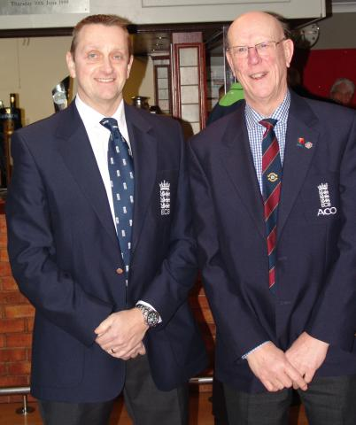 Russell with Peter McKenzie, Midlands Region ACO