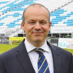 Simon Storey CEO Derbyshire CCC