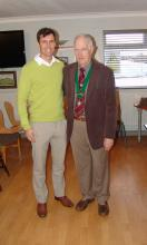 Wayne Madsen with BDUA President Mike Smedley